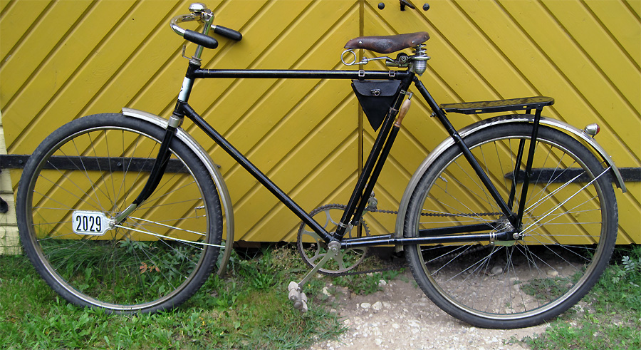 Gents' bicycle Excelsior, 1926   Eesti Jalgrattamuuseum
