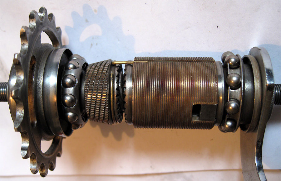 Nsuv on Bicycle Drum Brake Hub